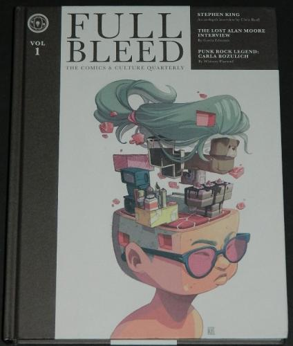 "Full Bleed Vol.1Hardcover - 2018""Nice and Scary"" 19pg. interview w/ illustrations"