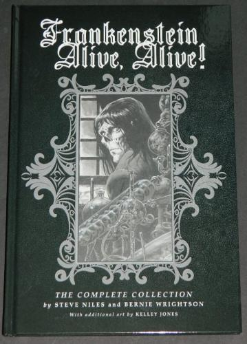 Frankenstein Alive, Alive2018 Hard Cover4 issues plus artwork