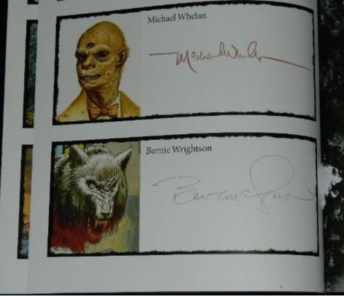 Knowing Darkness: Artists Inspired by Stephen KingSignature page