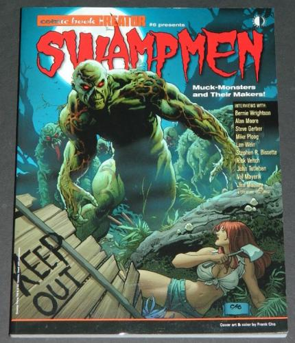 Swampmensoft coverInterview and illustrations