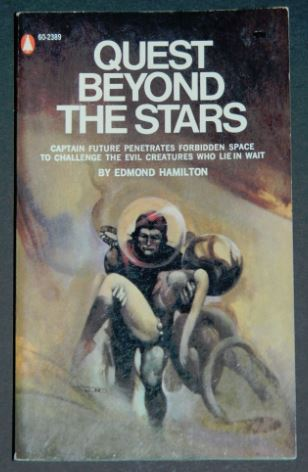 Quest Beyond the Stars1969 paperback cover pencils painted by Jeffrey Jones
