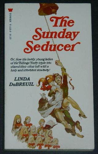 The Sunday Seducer1970 paperback cover painted by Jeffrey Jones
