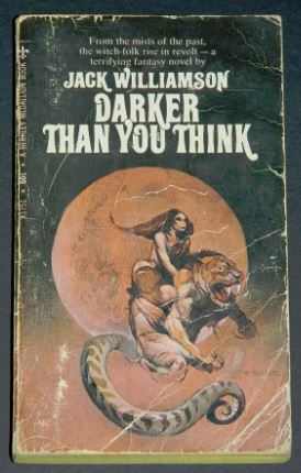 Darker Than You Think1969 paperback cover painted by Jeffrey Jones