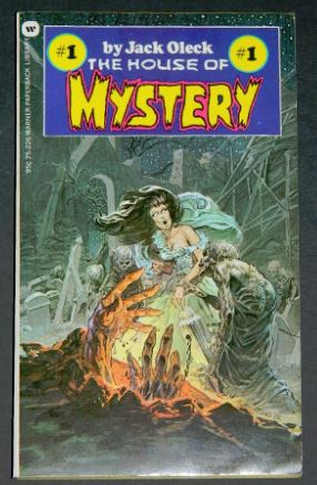 House of Mystery #11973 paperback cover and 8 illustrations