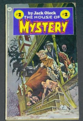 House of Mystery #21973 paperback cover and illustrations