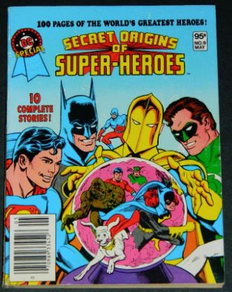 DC Special Blue Ribbon Digest #91981 H.O.S. #92