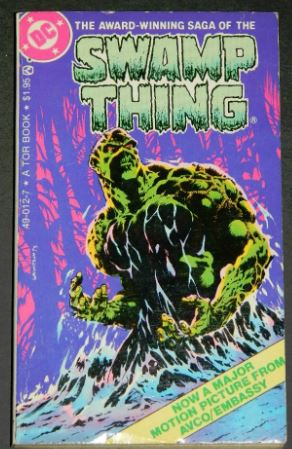 Swamp Thing1982 paper back1-3 B&w