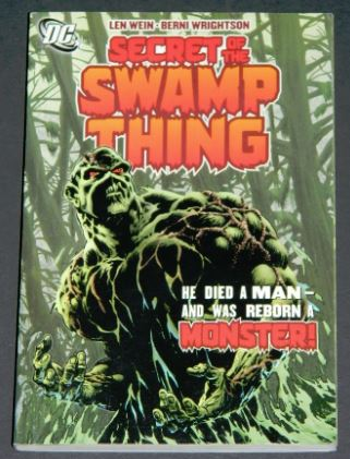 Secret of the Swamp Thing2005 paper back1-10 in color
