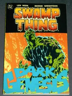 Swamp Thing Dark Genesis1991 paper back1-10 in color