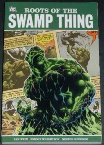 Roots of the Swamp Thing2011 soft coverH.O.S. #92 - Swamp Thing 1-13