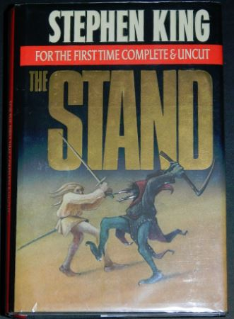 The Stand uncut1990 hard coverIllustrations