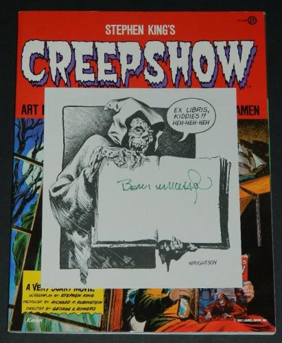 Creepshoww/ mail-order signed bookplate