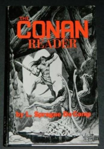 The Conan Reader1968 hard coverMirage PressCover