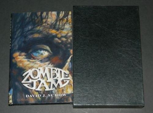 Zombie Jam2005 hard coverSubterranean PressCover, illustrations