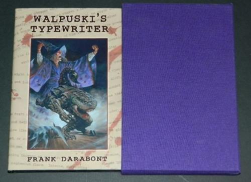 Walpuski's Typewriter2005 hard coverCemetary DanceCover, illustrations