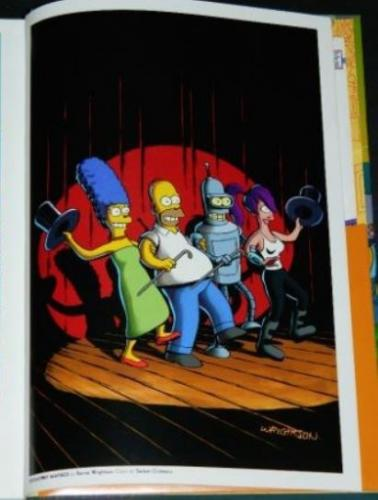 The Simpsons Futurama Crossover CrisisIllustration