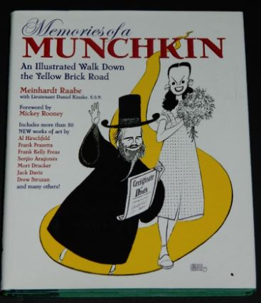 Memories of a Munchkin2005 hard coverBack Stage Books1 illustration
