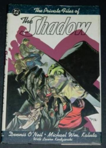 "The Private Files of the Shadow1999 hard cover""The Kingdom of the Cobra"""