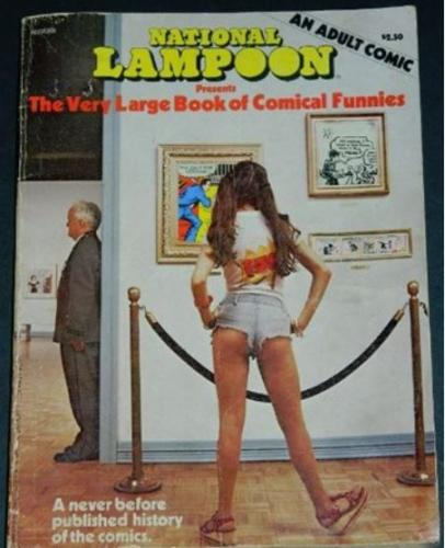 "Very Large Book of Comical Funnies1975 soft coverCollaberates on The ""Lost"" E.C. comics"