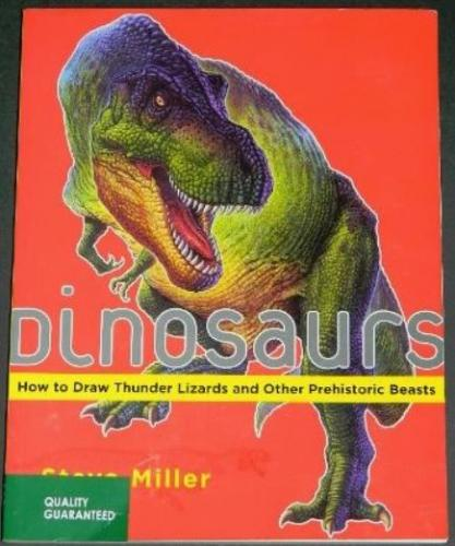 Dinosaurs How to Draw2008 soft cover1 illustrations