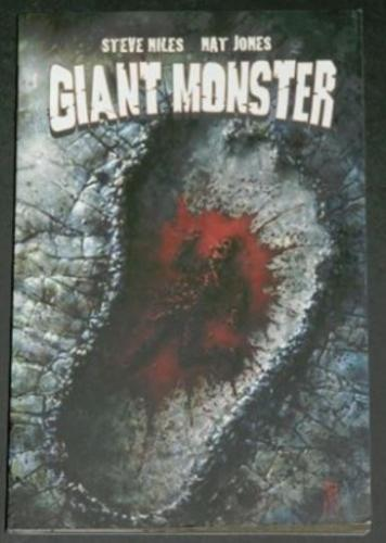 Giant Monster2008 soft coverBoom StudiosIllustration