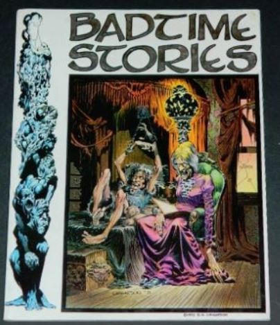 Badtime Stories1972 Graphic Masterssoft cover