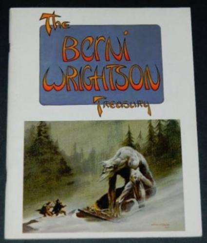 The Berni Wrightson Treasury1975 Omnibussoft cover