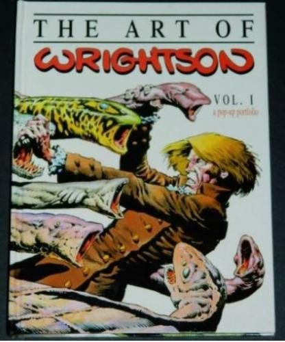 The Art of Wrightson1996 SideShowhard cover pop-up