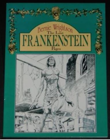 The Lost Frankenstein Pages1993 Applesoft cover