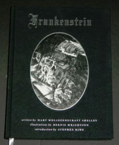 Frankenstein2008 Dark Horsehard cover