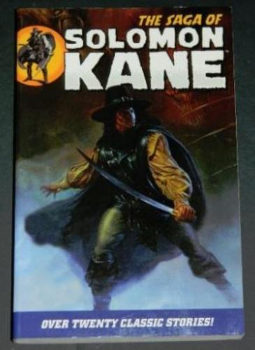 The Saga of Solomon Kane2009 Dark Horsesoft coverFrontispiece