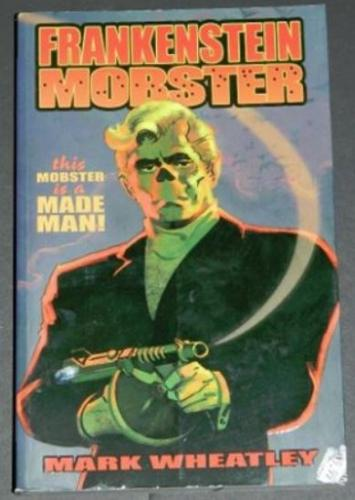 Frankenstein Mobster2009 IDWsoft cover7B illustration