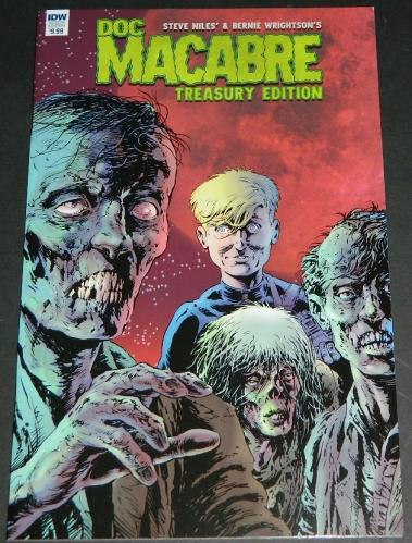 Doc Macabre2017 IDWsoft coverTreasury Edition