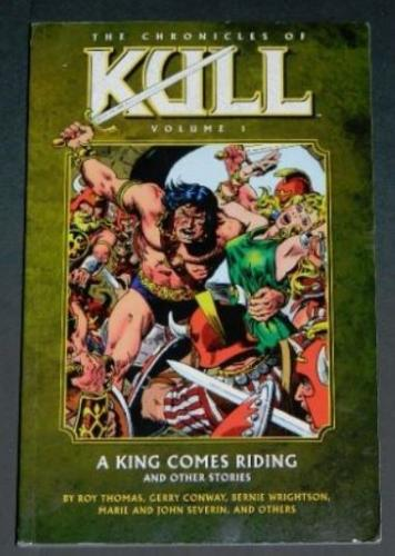 "Chronicles of Kull Vol. 12009 Dark Horsesoft cover""The Skull of Silence"""