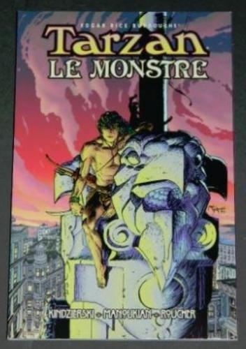 Tarzan Le Monstre1998 Dark Horsesoft coverReprint #11 & #12