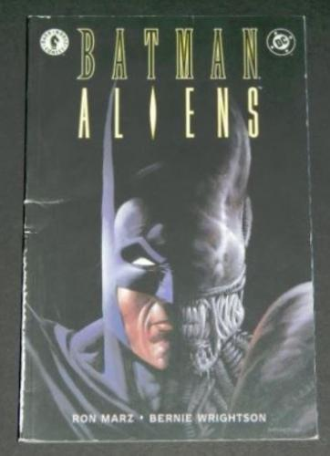 Batman Aliens1997 Dark Horsesoft cover