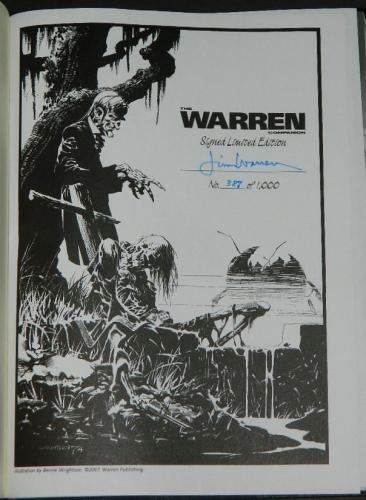 The Warren CompanionSigned #387/100