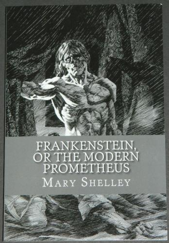 Frankenstein2016 - CreateSpacePublishing softcover - Bernie cover