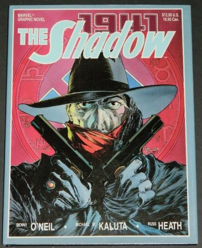 The Shadow 1941cover - slip cover
