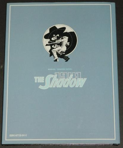 The Shadow 1941back - slip cover