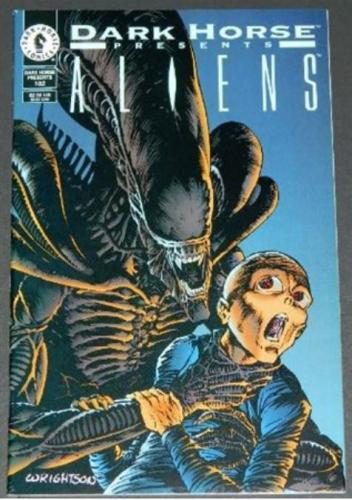 "Dark Horse Presents #10210/95 Cover, ""Aliens Incubation"" Pt. II"
