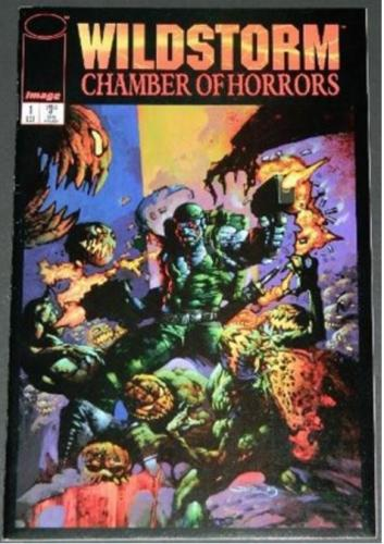 Wildstorm's Chamber of Horrors #110/95 6pg. story layouts