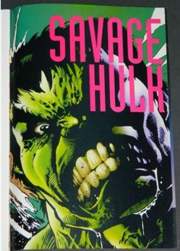 Incredible Hulk #435Promo page