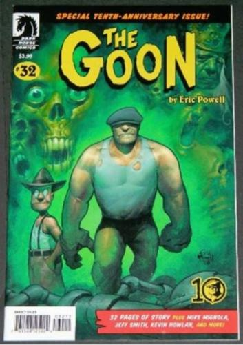 The Goon #323/96 Illustration
