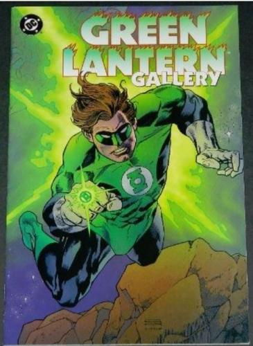Green Lantern Gallery12/96 Pin up
