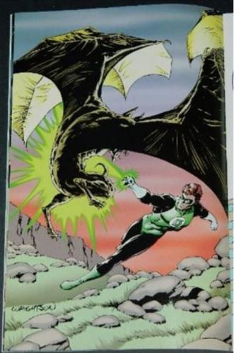 Green Lantern GalleryPin up