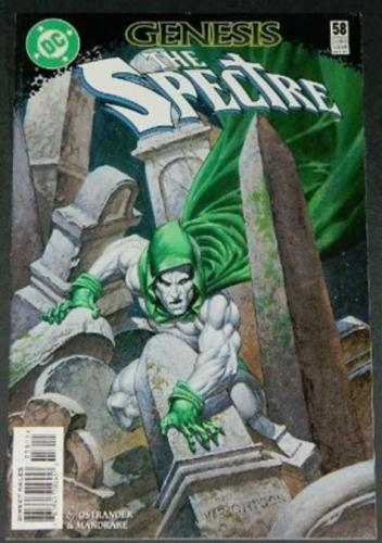 The Spectre #5810/97 Cover