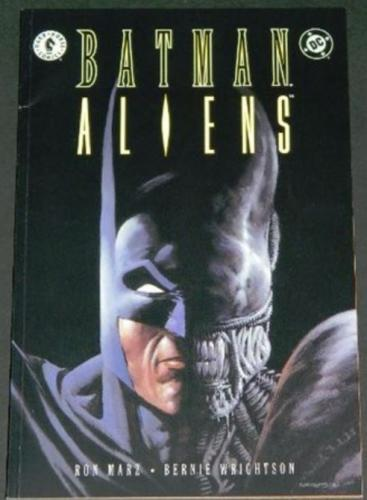Batman Aliens #13/97 Cover, Story art