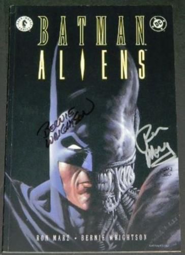Batman Aliens #13/97 Signed #223/500