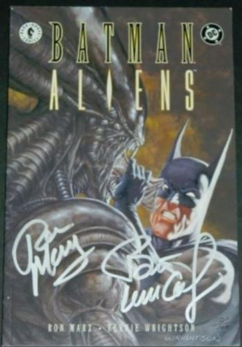 Batman Aliens #24/97 Signed #21/100